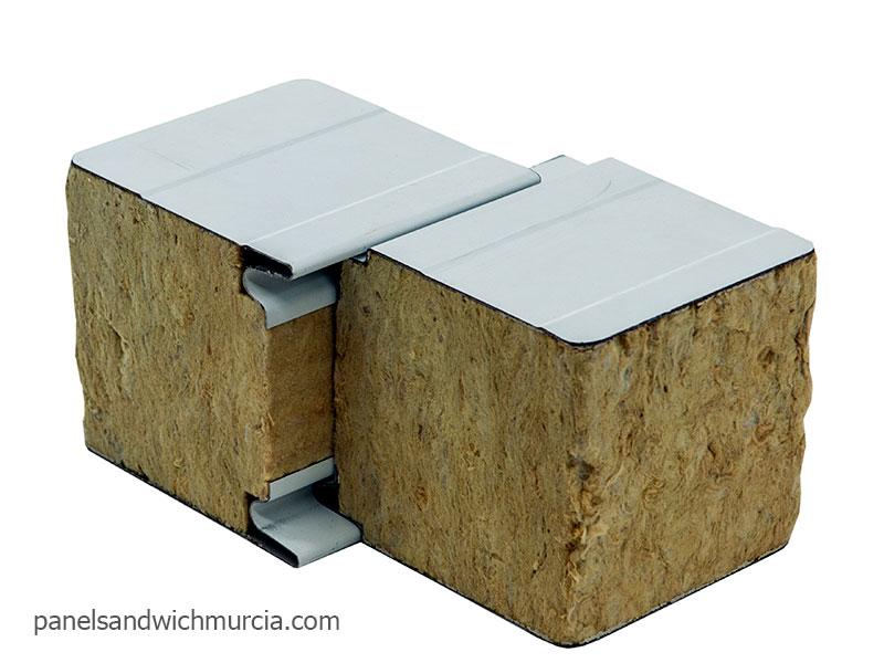 Panel s ndwich de lana de roca panel s ndwich lana de for Panel lana de roca